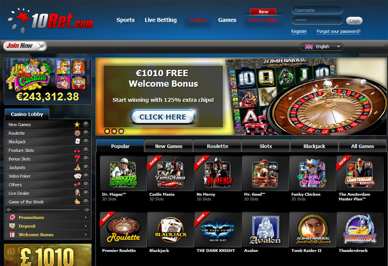 online casinos with free signup bonus