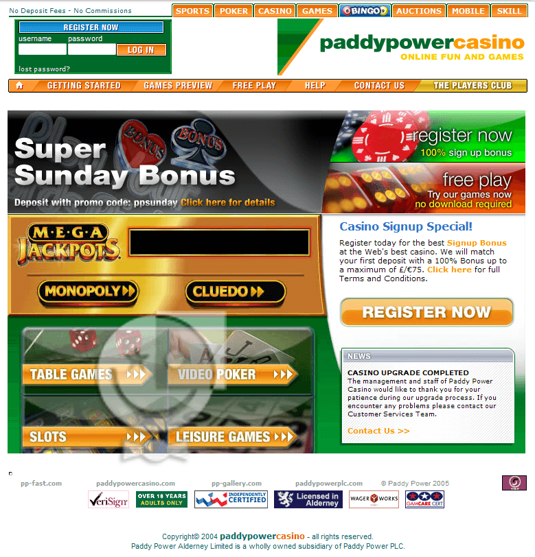 Paddy power website not mobile
