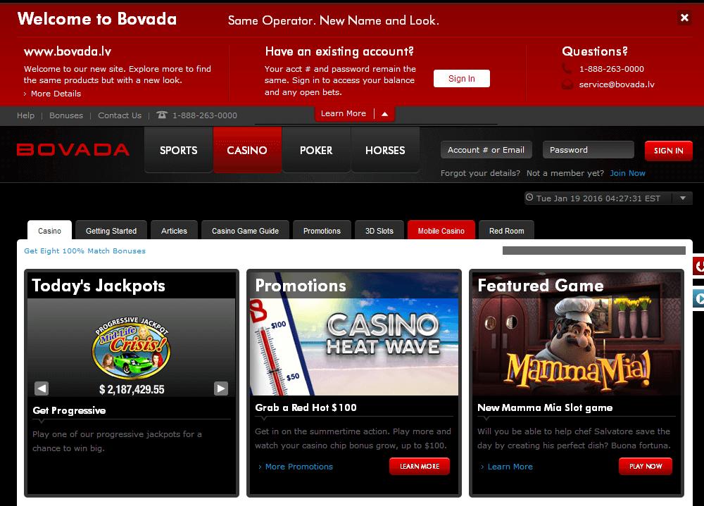 Bovada Lv Casino