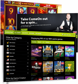 ComeOn casino review | About Come On casino