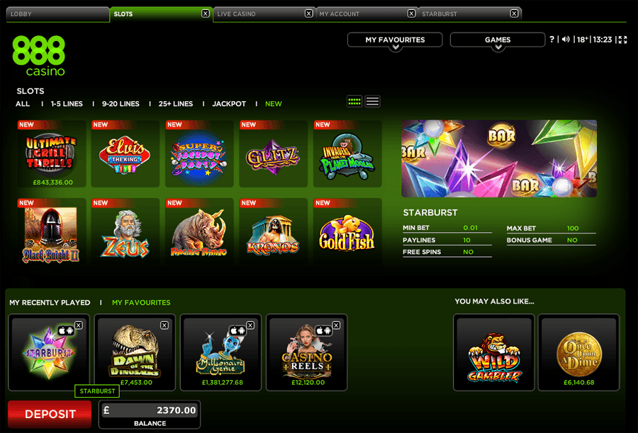 888 poker casino promotions