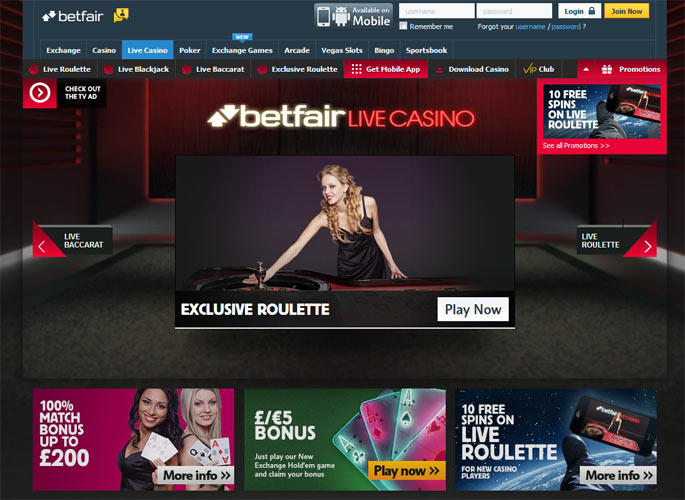 Betfair Casino Review About Betfair Com Casino
