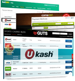 Best Ukash Casino