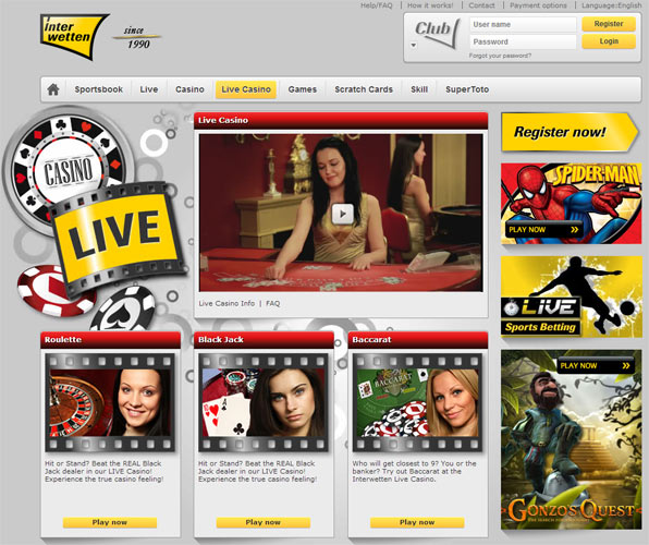 internetwetten casino