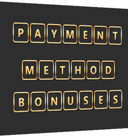 bonus online casino payment methods