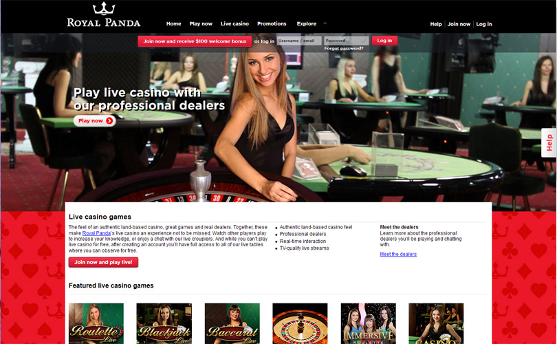 Royal Panda Casino Review - Casinosexplorer com