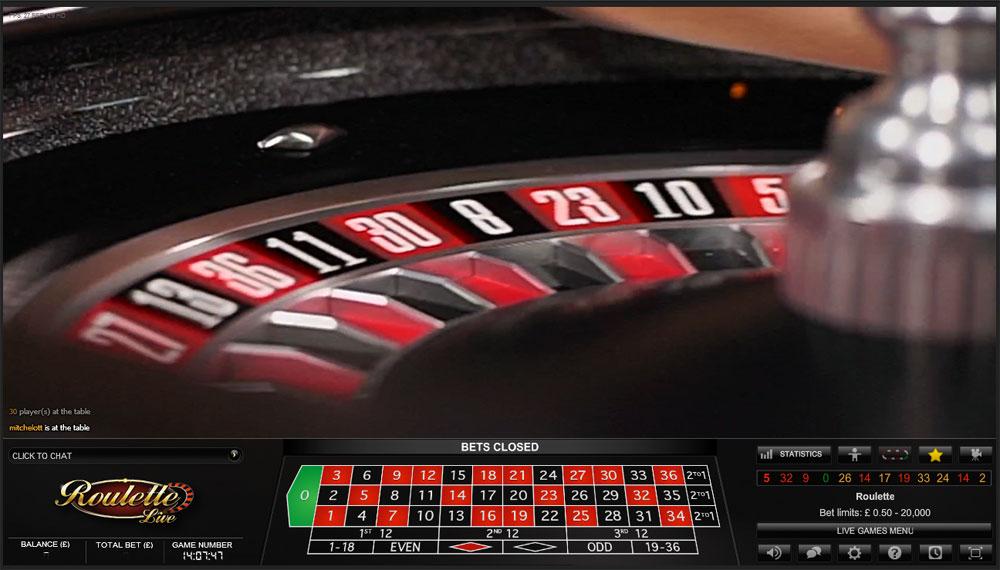 Roulette reader
