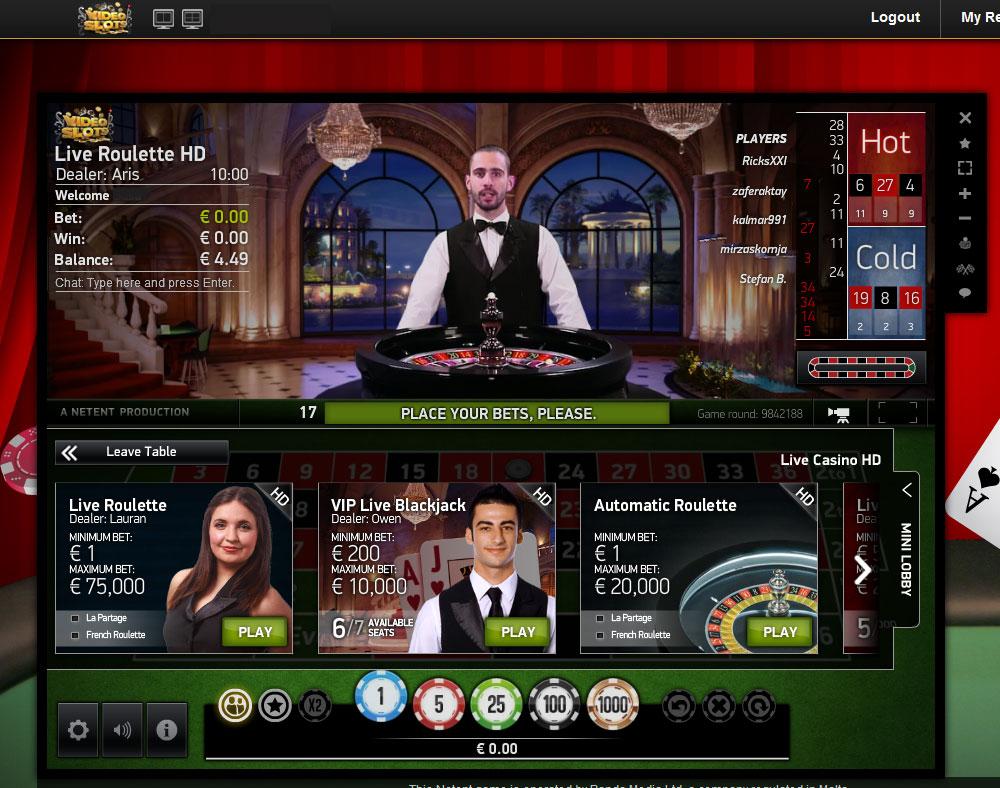 video slots online live casino deutschland